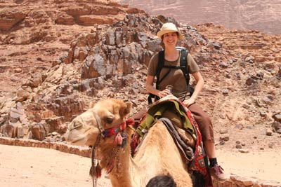 françoise auf kamel