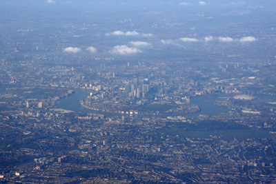 anflug auf london