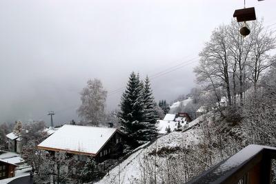 erster schnee!