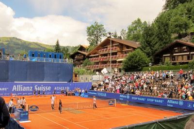 tennis im zentrum
