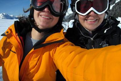 skilift zu dritt
