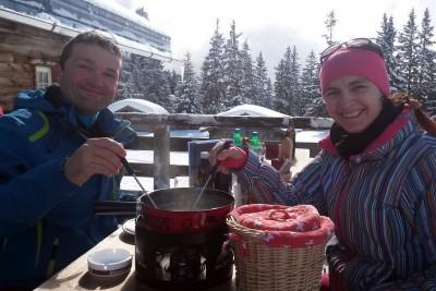 fondue open air