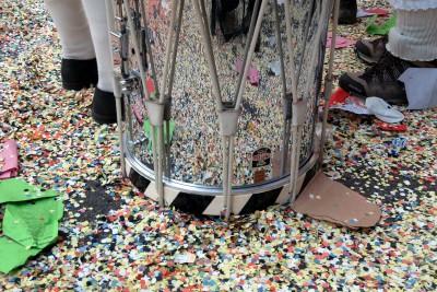 konfettischlacht