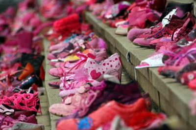 pink shoe day