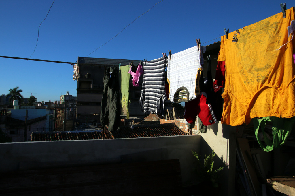 unsere wäscheleine
