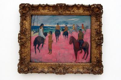 cavaliers sur la plage (II)