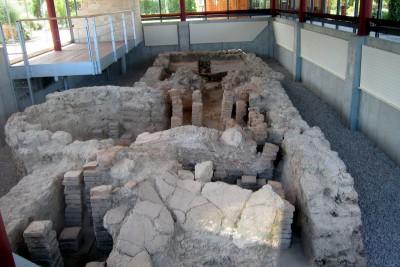 römische heizung