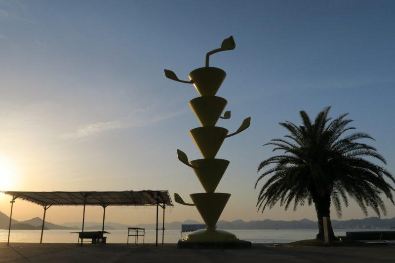 setoda sunset beach