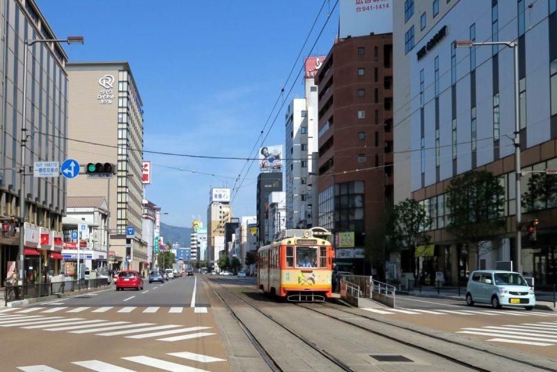 tram in matsuyama