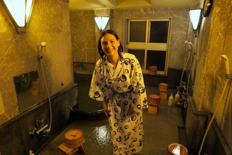 mit yukata im onsen