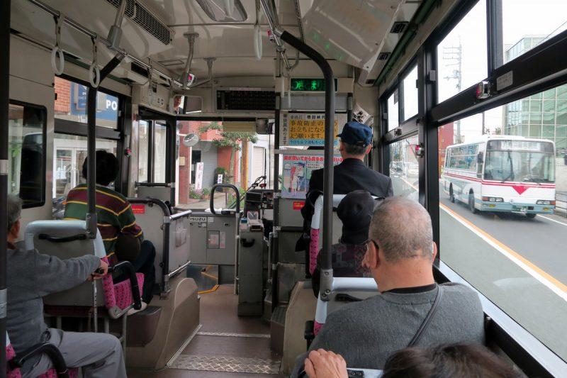 bus zur fähre