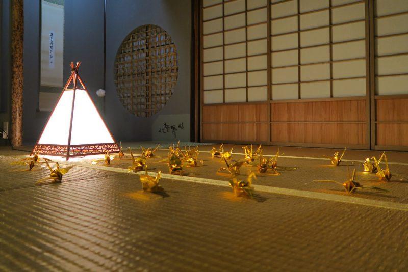 goldenes tatami zimmer