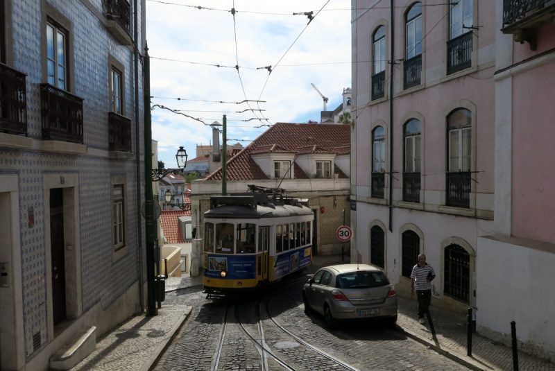 tram stau