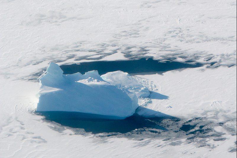 gefangener eisberg