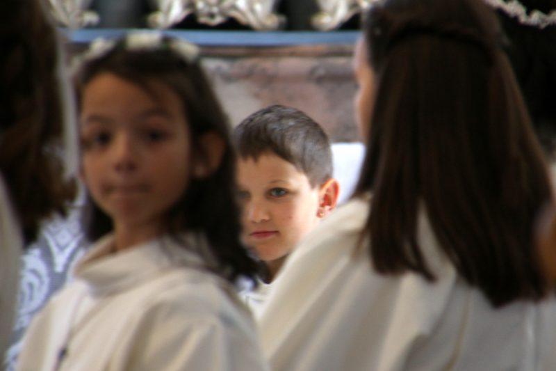 während des gottesdienstes