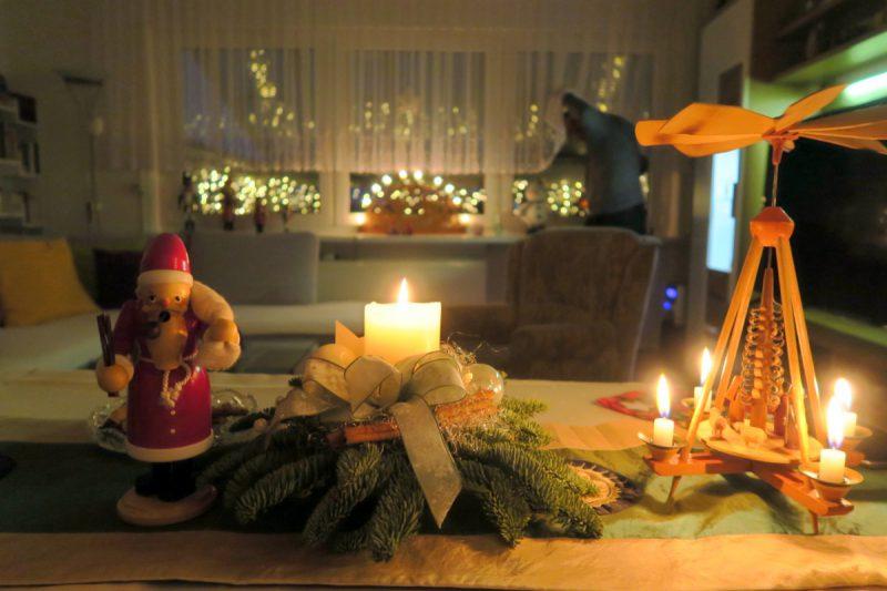 weihnachtstisch